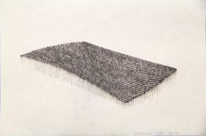 O.T., Tusche auf Papier 14,8x21cm, 2014