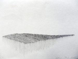 O.T., Tusche auf Papier 14,8x21cm, 2011