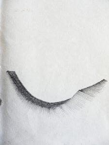 O.T., Tusche auf Papier 21x14,8cm, 2011