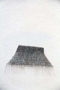O.T., Tusche auf Papier 14,8x10,5cm, 2014