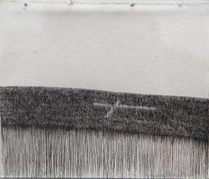 O.T., Tusche auf Papier 10,5x14,8cm, 2014